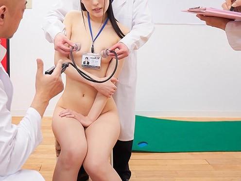 エロ過ぎる健康診断★『いっぱい感じて。。ごめんなさい。。///♥』膣の検診では強弱をつけたピストンに「ダメダメもうダメぇ!」と絶叫オーガズム。